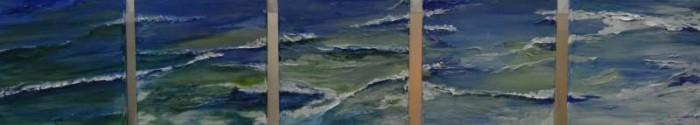 2013, Wandeling langs zee, vijfluik