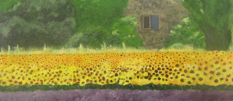 Cecile van der Kooi, Zonnebloemen