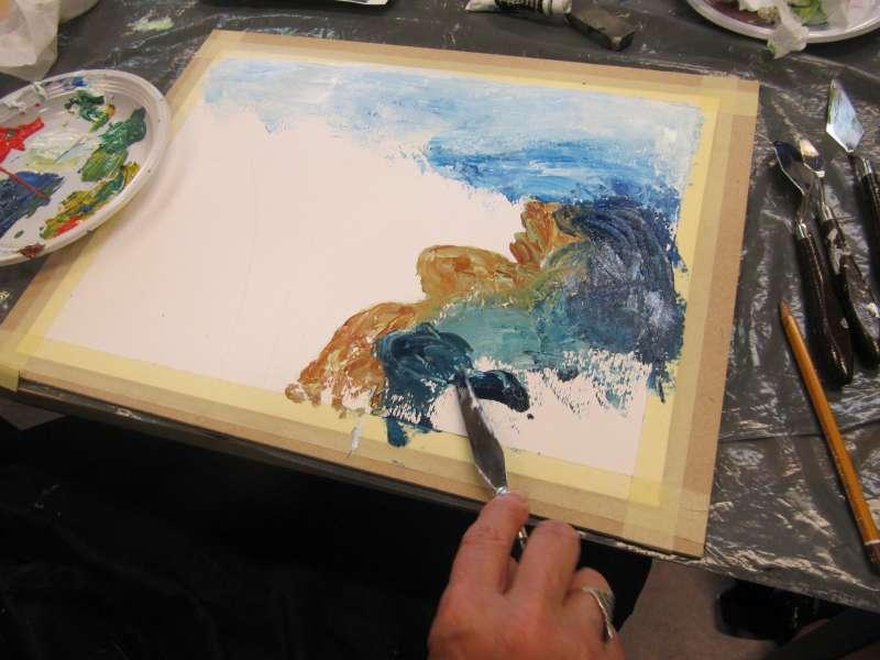 Zeer Comello Art | Comello-Art organiseert een workshop schilderen met &XJ59