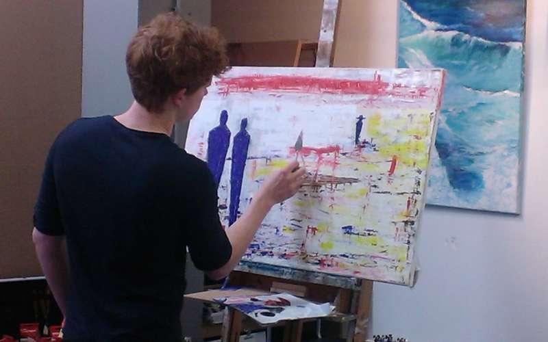woensdagavond schilderles Comello-Art