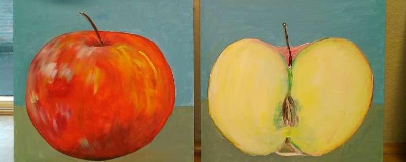 Tweeluik appels